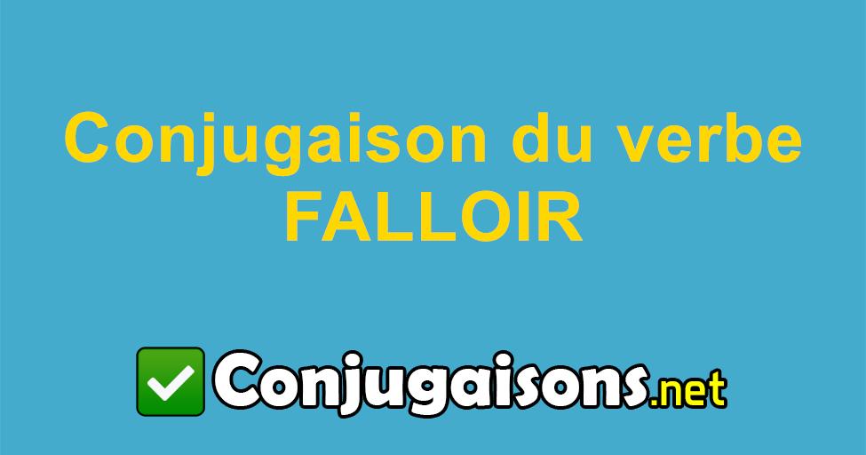 Falloir Conjugaison Du Verbe Falloir Conjuguer En Francais